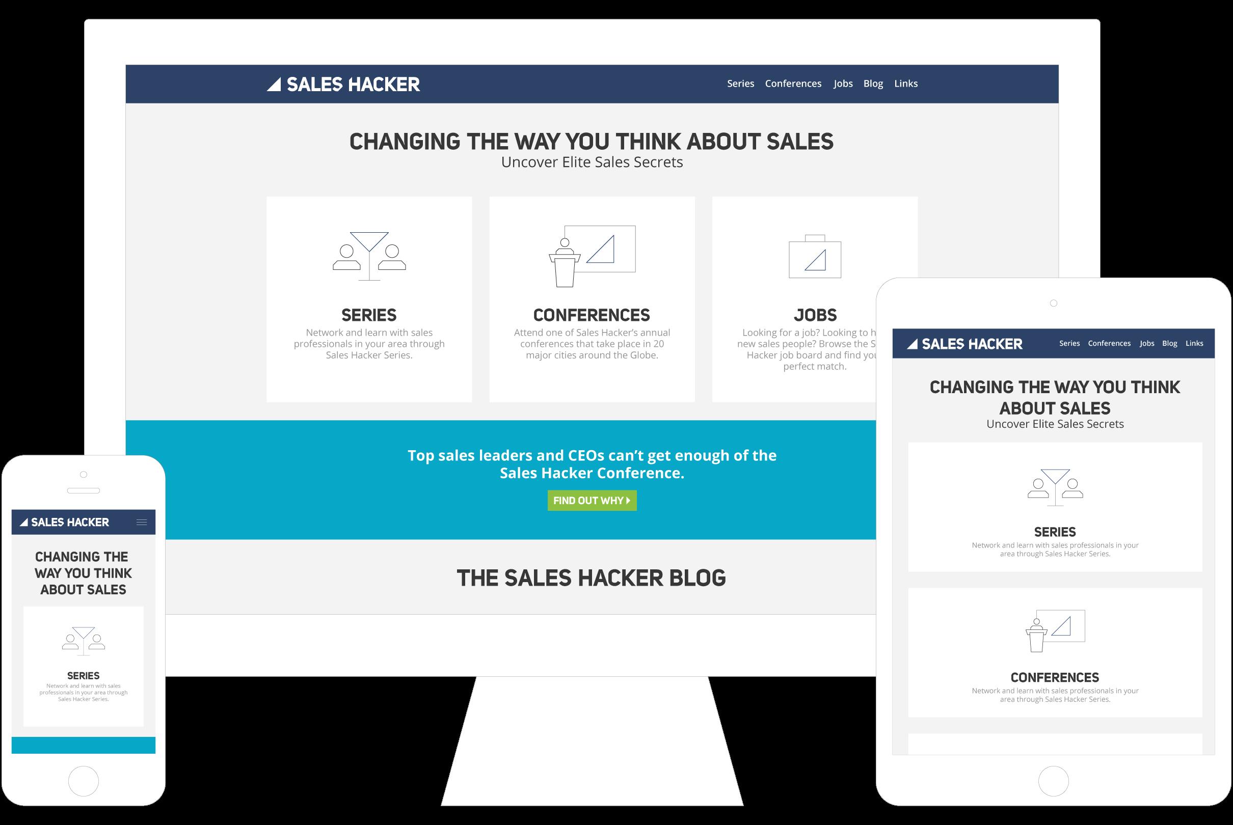 Case Study - Sales Hacker